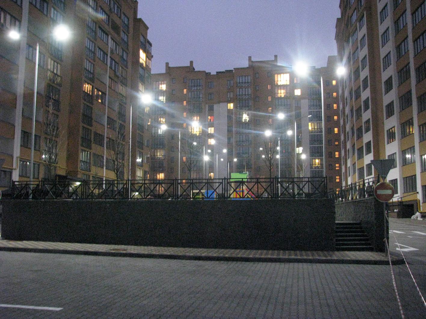 Микрорайон ЖК «Щасливий» - компания Электронный свет